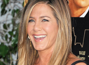 """LOS ANGELES, CA - AUGUST 19:  Actress Jennifer Aniston arrives at the Los Angeles Premiere """"She's Funny That Way"""" at Harmony Gold on August 19, 2015 in Los Angeles, California.  (Photo by Jon Kopaloff/FilmMagic)"""